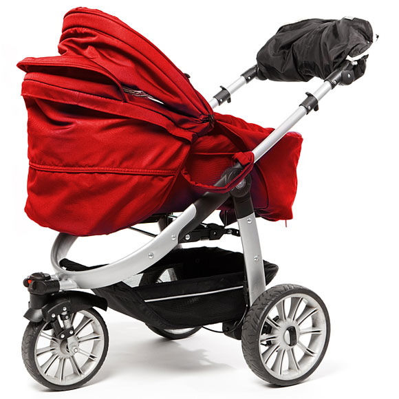three-wheel jogging stroller
